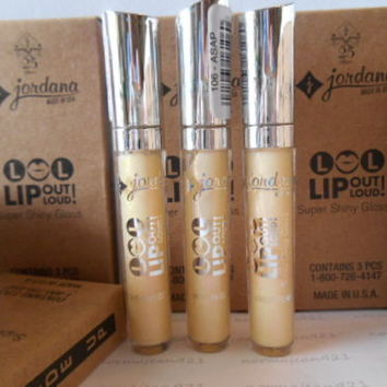 Lot of 30 JORDANA LOL LIP out Loud! Super Shiny Gloss #106 ASAP New in the Box!