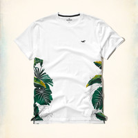 Floral Print Pocket T-Shirt