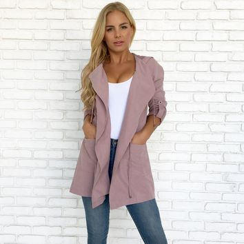 Rainy Day Jacket in Lilac