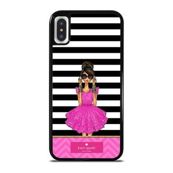 KATE SPADE PINK GIRLS iPhone X / XS case
