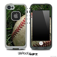 Worn Baseball Skin for the iPhone 5 or 4/4s LifeProof Case