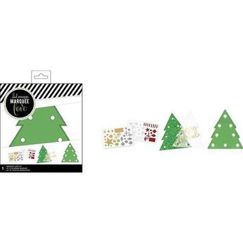 American Crafts Heidi Swapp Marquee Love Collection Christmas DIY Marquee Kit Tree