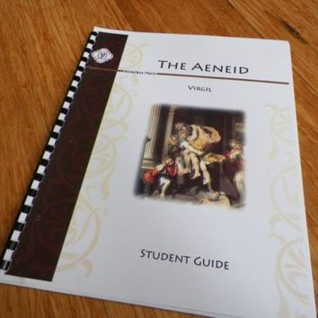 Memoria Press The Aeneid by Virgil Student Guide by Cody King 2010
