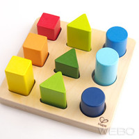 Color and Shape sorter カラー&シェープ ソーター / Hape