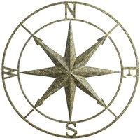 Garden Compass Wall Decor