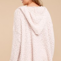 Sunday Snuggles Pale Blush Pullover