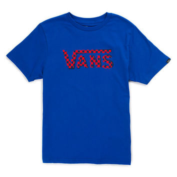 Boys Checker Classic T-Shirt | Shop at Vans