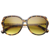 Oversize Women's Square Sunglasses With Gradient Lens 9971