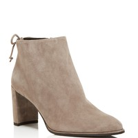 Stuart WeitzmanLofty Suede Pointed Toe Booties