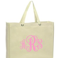 Interlocking Monogram Tote Bag