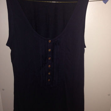 Tory Burch Navy Blue Shirt
