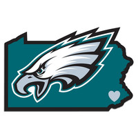 Philadelphia Eagles Home State Decal FHSD065