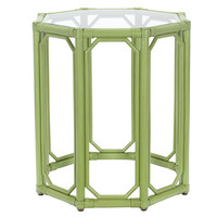Short Eloise Octagonal Side Table, Kiwi, Standard Side Tables