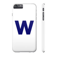 Cubs Win Flag Phone Case iPhone and Galaxy