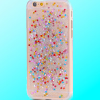 Glitter and Stars Iphone Case