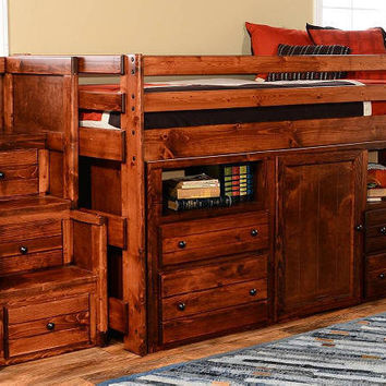 Prescott Twin Secret Hideout Loft Bed