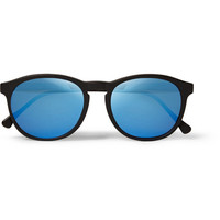 Illesteva - Hudson Round-Frame Acetate Mirrored Sunglasses | MR PORTER