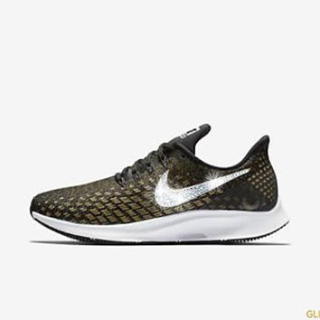 Nike Air Zoom Pegasus 35 + Crystals - Black Wheat Gold Metall. 740d62ef14
