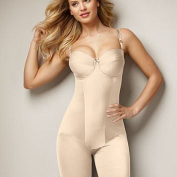 Miraclesuit Shapewear, Extra Firm Control Strapless Thigh Slimming Body Shaper 2791 - Womens Lingerie - Macy's