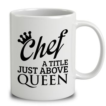 Chef A Title Just Above Queen