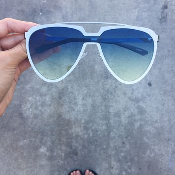 True Self Aviator Oversized Lens Sunnies