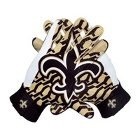 Nike New Orleans Saints Stadium Gloves - Black