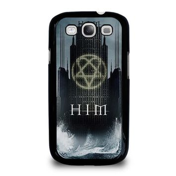 HIM BAND HEARTAGRAM Samsung Galaxy S3 Case Cover