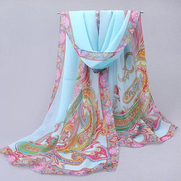 hijab womens tops fashion 2017 spring autumn chiffon silk scarf summer sun cape air conditioning thermal scarves wholesale fq044