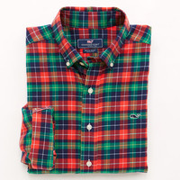 Ridgebrook Plaid Whale Shirt
