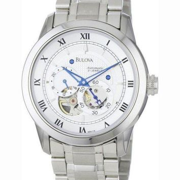 Bulova Automatic BVA Series Dual Aperture Dial 96A118 Mens Watch