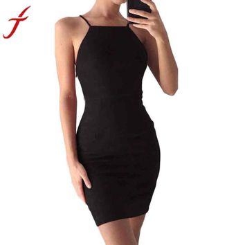 Apparel Sexy backless 2017 Sexy Velvet Dress Women Slim bodycon Summer Dress Bandage Back Strappy Party Dresses