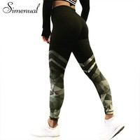 Camo Stripe Sportswear Leggings