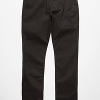 Rvca Week-End Mens Chino Pants Black  In Sizes