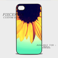 Sunflower Mirror Plastic Cases for iPhone 4,4S, iPhone 5,5S, iPhone 5C, iPhone 6, iPhone 6 Plus, iPod 4, iPod 5, Samsung Galaxy Note 3, Galaxy S3, Galaxy S4, Galaxy S5, Galaxy S6, HTC One (M7), HTC One X, BlackBerry Z10 phone case design
