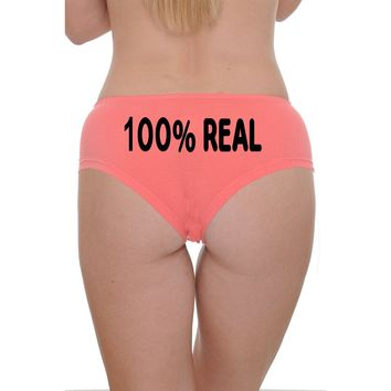 Women's Booty Boy Shorts 100% Real