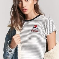 Striped Minnie Mouse Tee