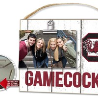 South Carolina Gamecocks Clip It Weathered Logo Photo Frame