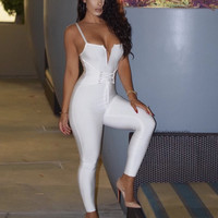 Sugarcane Glam Hourglass Shape Jumpsuit