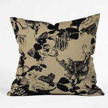 Pattern State Foxy Loxy Throw Pillow