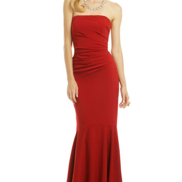 Badgley Mischka Beauty in a Bottle Gown