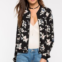 Jessica Floral Bomber