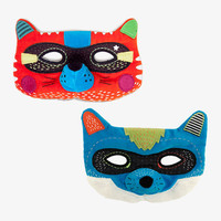 Fox and Wolf Masks