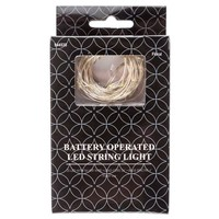 25-Count Warm White LED String Lights | Hobby Lobby