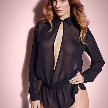 NEW Sexy Secretary Romper