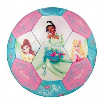 Franklin Sports Disney Princess Air Tech Soft Foam Soccer Ball, Size 3