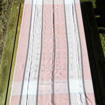 Vintage  Danish Cotton Table Cloth / Scandinavian Decor, Danish Design / Mid Century Modern / Scandinavian Fabric / European / Decor / Home