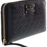 DCK4S2 Kate Spade New York Penn Place Embossed Neda Leather Continental Wallet