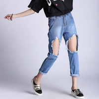 Women's Ripped Jeans 3010