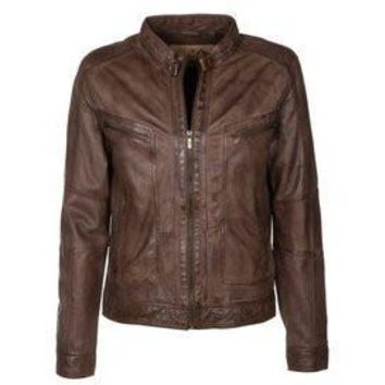 Mens Oxford Leather Jacket
