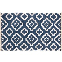 LILY INDOOR/OUTDOOR RUG - NAVY BLUE